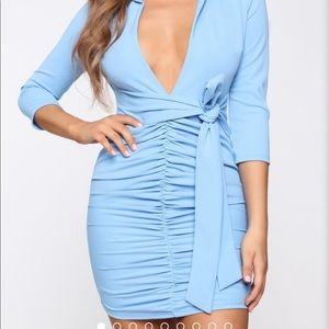 Fashion Nova Dresses - Tied Into The Details Mini Dress